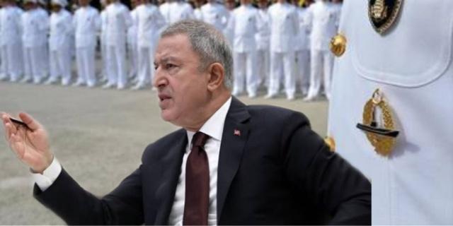 Türkiye'nin son birkaç gündür g'ündeminden düşmeyen 104 A'miral eskisinin o'rganize şekilde oluşturduğu bildiri hakkında Milli