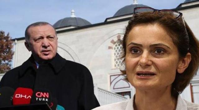 """CHP İstanbul İl Başkanı Canan Kaftancıoğlu, açıklamasında Erdoğan hakkında suç duyurusunda bulunacağını ve tazminat davası açacağını belirtti. """"ELİNDE HANGİ DELİLİ VARSA AÇIKLAMAK ZORUNDADIR"""" Canan Kaftancıoğlu, şunları belirtti: Bilindiği üzere 2019 yerel seçimlerinde Cumhuriyet Halk Partisi, Millet İttifakı çatısı altında girdiği seçimlerde, İstanbul'da önemli bir seçim başarısı elde etmiştir. Bu başarıyı bir türlü hazmedemeyen AKP Genel Başkanı Recep Tayyip Erdoğan tarafından,"""