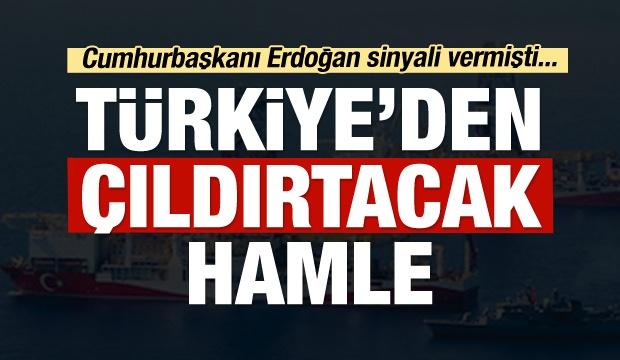 Tibya ile Doğu Akdeniz'e ilişkin imzalanan tarihi mutabakatın ardından Türkiye, Mavi Vatan'da derin sondajlar için üçüncü gemiyi almaya hazırlanıyor