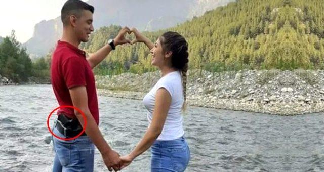 Adana'da beylik tabancasını temizlerken kendisini vurarak öldürdüğü öne sürülen polis memuru Alpay Doğan'ı (24), eşi Fadime Doğan'ın (23) öldürdüğü ortaya çıktı.