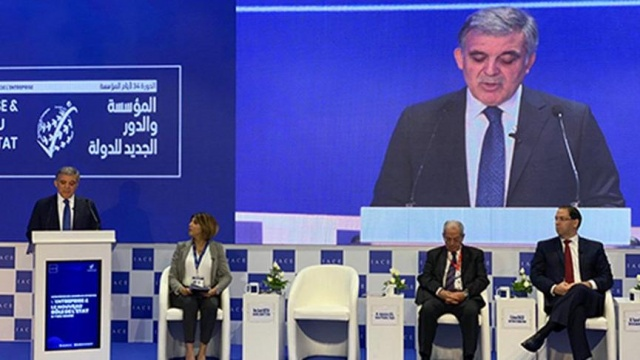 Eski Cumhurbaşkanı Abdullah Gül, Tunus'ta katıldığı panelde demokrasinin önemine ilişkin bir konuşma gerçekleştirdi.