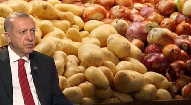 """Cumhurbaşkanı Erdoğan, """"1 milyon 250 bin ton patates ve 300 bin ton soğanı Ramazan'da hibe olarak ihtiyaç sahiplerine dağıtacağız""""dedi. Cumhurbaşkanı Recep Tayyip Erdoğan, Dolmabahçe Ofisi'nde Uluslararası Demokratlar Birliği heyetini kabul etti. Erdoğan kabulde bir konuşma gerçekleştirdi. Cumhurbaşkanı Erdoğan'ın açıklamalarından satır başları,"""