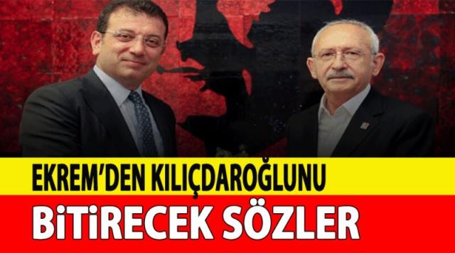 Daha seçimlere uzun bir süre olmasına rağmen Türkiye'yi s'eçim havasına s'okmaya çalışan Ekrem İmamoğlu yalnızca bir belediye başkanı olmasına Rağmen turlara çıkmaya başladı Önce Malatya'yı gezen daha sonra Adıyaman şehrine geçen İmamoğlu Kılıçdaroğlunun ayağını kaydıracak açıklamaları peş peşe yapmaya başladı CHP'li Ekrem İmamoğlu, cumhurbaşkanı adayı olmayı planlayan CHP Lideri Kemal Kılıçdaroğlu'nu k'ızdıracak açıklamalarda bulundu.