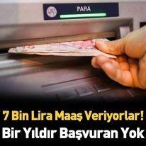 7 Bin Lira Veriyorlar. Bir Yıldır Başvuran Yok... Ayrıntılar Haberin Devamındadır…