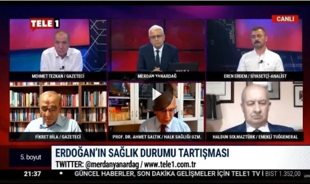 Uzman Prof. Dr Erdoğan'ın Hastalığını Canlı Yayında Açıkladı... Ayrıntılar Haberin Devamındadır