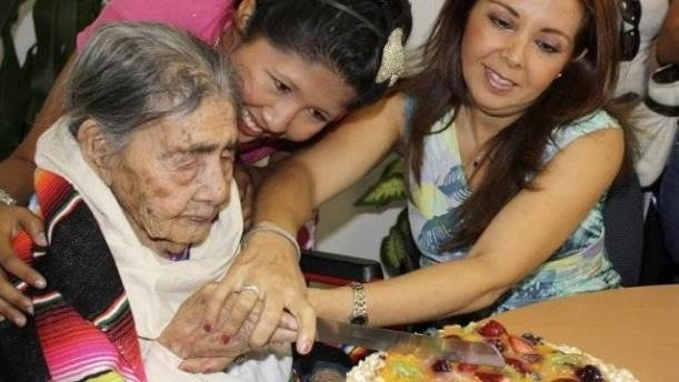 Dünyanın en yaşlı insanlarından 127 yaşındaki Meksikalı Leandra Becerra Lumbreras uzun yaşamanın sırrını açıkladı: