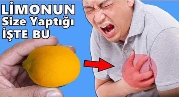 Limonun Hiç Bilmeden Size Yaptığı 10 Şey! İnsanlar Sağlığına Ne Yaptığını Bilmeden