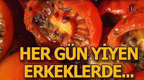 Sperm hızı düşük erkeklere 'domates' müjdesi!