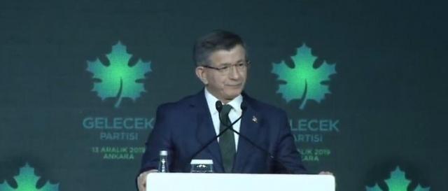 Gelecek Partisi, cumhurbaşkanı adaylarının Davutoğlu olduğunu duyurdu.. Bakın Kim Olacak…
