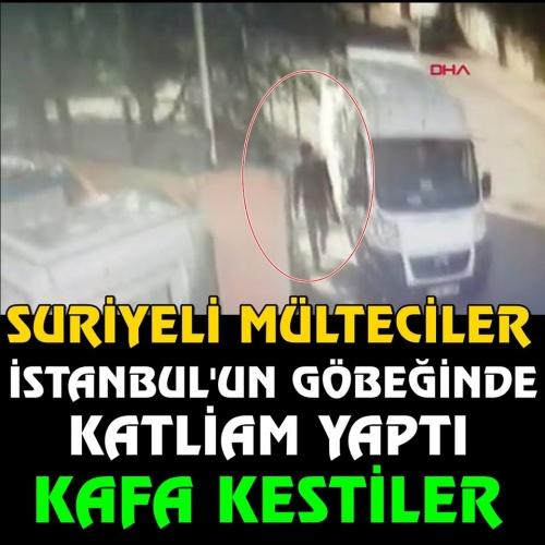 """İstanbul Çekmeköy'de Afganistan Türkmeni ve Suriyeliler arasında çıkan kavgada bir kişi hayatını kaybetti. Olayın geçtiğimiz günlerde bir Suriyelinin """"Kafa keseceğim"""" sözlerinin ardından yaşanması dikkat çekti.  İşte o anlara ait görüntü ve detaylar. Resmin üzerine tklayarak ilerleyiniz..."""