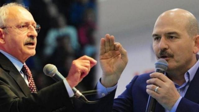 Benim bildiklerim var' diyen Soylu 'Kılıçdaroğlu'nu uyarıyorum; bu defterler açıldığında kendisi zarar görecek' ifadelerini kullandı