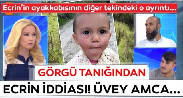 Müge Anlı yayınında Ecrin bebekle ilgili korkunç iddia: Ayakkabıyı oraya bırakan kişi... Bu iddia ile herkes şok oldu. İşte tüm ayrıntılar. Resmin üzerine tklayarak ilerleyiniz.