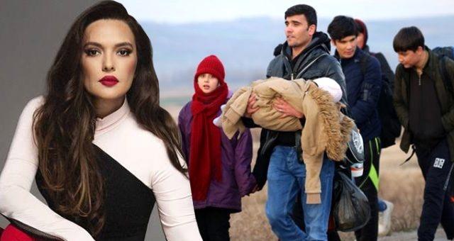 İdlib'de askerlerimize yapılan hain saldırının ardından Türkiye, AB'ye gitmek isteyen mültecileri durdurmama kararı alarak kapıları açtı.Bu duruma ilk yorum ise şarkıcı Demet Akalın'dan geldi.