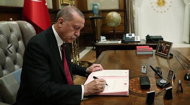 Cumhurbaşkanı Erdoğan İmzaladı: Resmi Gazetede Yayımlandı