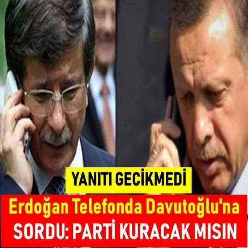 Başkan Erdoğan sordu, Davutoğlu ise şu cümleler ile cevap verdi.  Ayrıntılar için resmin üzerine tklayarak ilerleyiniz.