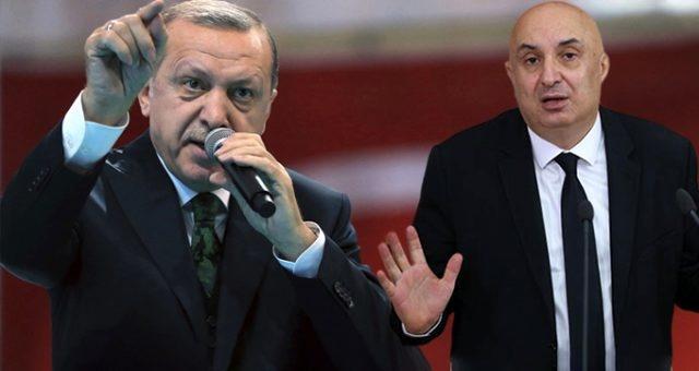 Cumhurbaşkanı Erdoğan, kendisi için hakaret içerikli ifadeler sarf eden Engin Özkoç'a yanıt verdi..