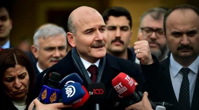 İçişleri Bakanı Süleyman Soylu düzenlediği basın toplantısıyla Yunanistan sınırında yaşanan son gelişmeleri değerlendirdi.Ayrıntılar haberimizin detayındadır.