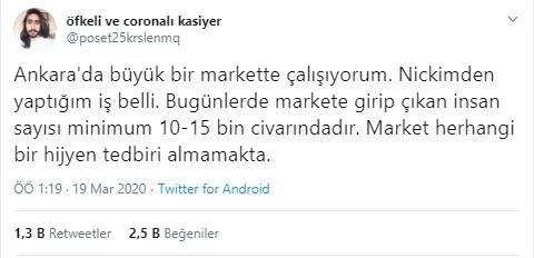 Süpermarket Çalışanından Tüyler Ürperten Paylaşım..