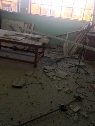 Okula Hain Saldırı.. Ölü ve Yaralılar Var..