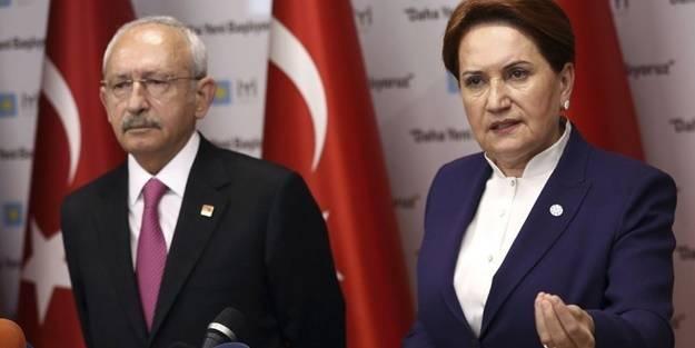 Millet İttifakı, kurulduğu günden bu yana krizlerin içerisinden bir türlü çıkamadı.CHP ile İyi Parti'yi karşı karşıya getiren son krizin nedeni ise Cumhurbaşkanlığı adayının kim olacağı..Cumhurbaşkanı Recep Tayyip Erdoğan'ın karşısına kimi aday olarak çıkaracağını bilemeyen partiler arasında ince hesaplar başladı.