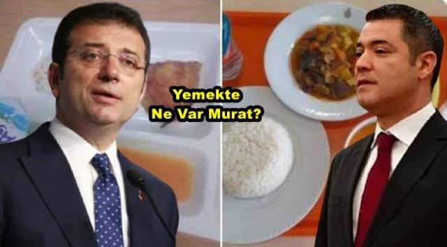 İstanbul Büyükşehir Belediye Başkanı Ekrem İmamoğlu'nun adeta yalan söylemesi için maaşa bağladığı İstanbul Büyükşehir Belediyesi Sözcüsü Murat Ongun, dün KYK yurtları ve İBB yurtlarında verilen yemeklerin görüntülerini paylaştı. Paylaşımında yine skandal bir manipülasyona imza atan Ongun'a KYK yurtlarından birer birer görüntülü cevap geldi.