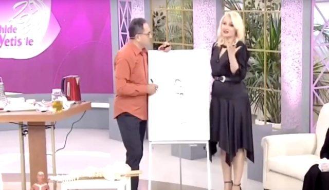 Zahide Yetiş, Show TV ekranlarında sunuculuğunu yaptığı programda Dr. Feridun Kunak'a ilginç bir soru yöneltildi.