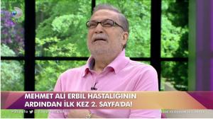 Mehmet Ali Erbil'den Kötü Haber Geldi.  Haber bugün geldi…
