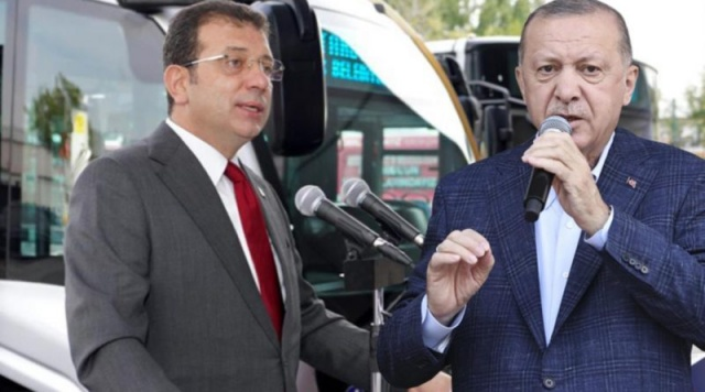 Ümraniye-Ataşehir-Göztepe Metro Hattı'nda gerçekleştirilen TBM geçiş töreninin ardından gazetecilerin sorularını yanıtlayan İstanbul Büyükşehir Belediye Başkanı Ekrem İmamoğlu,