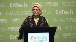 Emine Erdoğan'dan Kaos Açıklaması