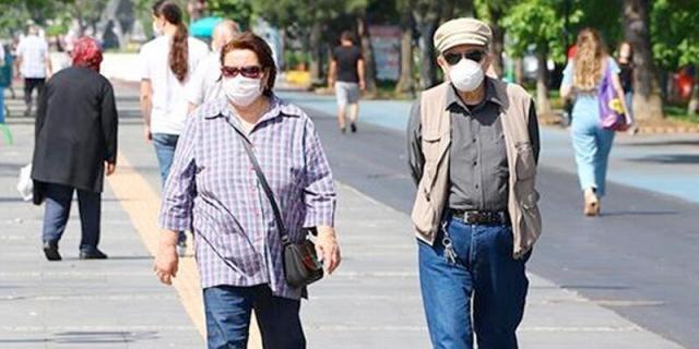 Sivas Valiliği 65 yaş üstü vatandaşlara sokağa çıkma kısıtlama getirildiğini duyurdu.