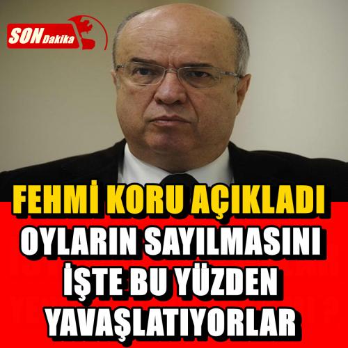 Abdullah Gül'e yakınlığı ile bilinen gazeteci Fehmi Koru geçtiğimiz gün İstanbul seçimlerinin tekrarlanma ihtimalinin göz önünde bulundurulmasına karşın bir yazı kaleme aldı. Yazısında Ak Parti'ye şok iddialarla gelen Koru'nun yazısının başlıkları şu şekilde…
