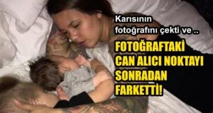 Karısının Fotoğrafını Gizlice Çekti Arkadaşları Detayı Fark Etti