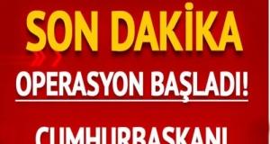 Cumhurbaşkanı Erdoğan'dan Pençe operasyonu mesajı