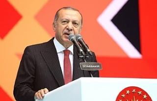 """Başkan Erdoğan: """"Saldırıları fırsata çeviren..."""