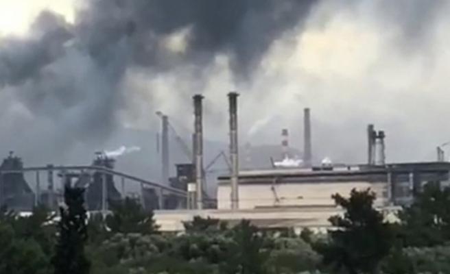 Hatay'da  Korkutan Patlama