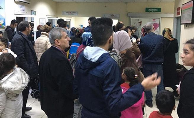 İstanbul'da Çocuk Acil Servisleri Doldu Taştı.