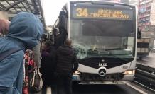 İstanbul'da Metrobüs Kazası..