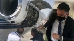 Tarım Bakanı Pakdemirli'nin uçağı havada arızalandı...