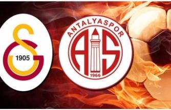 Canlı Galatasaray-Antalyaspor